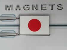 Japan Flag Fridge Magnet. Asia Travel