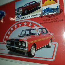 1971 XY FORD FALCON GTHO PHASE III COLOR 50 CENT COIN PNC