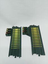 """2x Tyco Slot Car 9"""" Straight Terminal Track 1- B5832   1-B5833"""