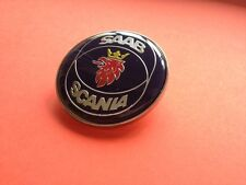 SAAB SCANIA 9-3 9-5 9000 900 BONNET BADGE FRONT 50MM BRAND NEW PART # 4522884