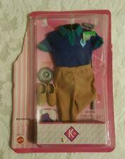 1996 Barbie Boyfriend Ken CLOTHES OUTFIT  Golf Club  PACKAGE TORN