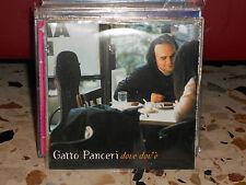 GATTO PANCERI - DOVE DOV'E' - MIA versione acustica . cd single cardsleave -MINT