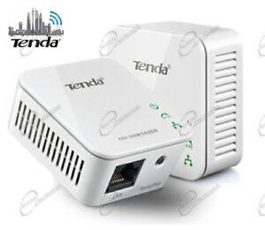 Due Powerline AV 200mbps per Connessione Rete Decoder Sky Smart TV Computer