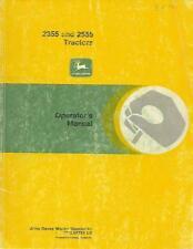 John Deere 2355 And 2555 Tractors Operators Manual
