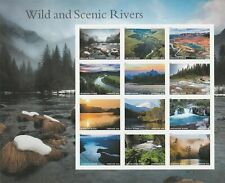 US# 5381 Wild and Scenic Rivers - Forever Stamp Sheet - Mint - Collector Quality