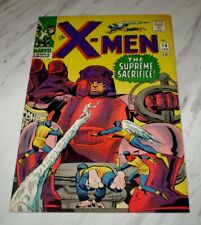 X-Men #16 NM+ 9.6 OW pages 1964 Marvel Silver age 1st Sentinels story - part 3