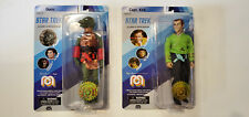 """Mego 8"""" CAPTAIN KIRK & Gorn, Star Trek Action Figure Lot of 2"""