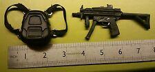 1/6 scale Tomb Raiders Lara Croft's back - bag and MP5 gun for 12 inch figure