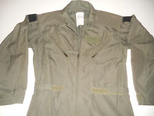 Flyers 40R Coveralls DLA100-92-C-0443  Aramid Flame Resistant  Military Green