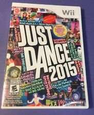 Just Dance 2015 [ First Print White Case ] (Wii) NEW