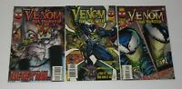 Venom The Hunted #1 #2 & #3 1st App Xenophage Complete Series 1996 Marvel VF/NM