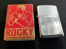 "Vintage ""Rocky"" Refillable Lighter Made In Japan for Perma-Pic New Hope Pa NOS"
