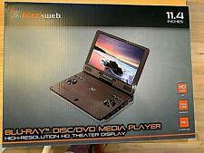 "New listing Blackweb 11.4"" Portable Blu-Ray Dvd Player Sdvd1183 Bwa18Av013 High Resolution"