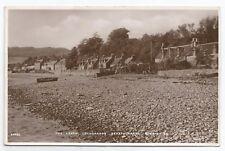 POSTCARDS-SCOTLAND-STRATHCARRON-RP. The Beach at Lochcarron.