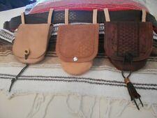 Handmade Leather Possible, Black powder ,Sporran, belt bags  Everyday wear use