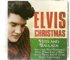 ELVIS CHRISTMAS HITS AND BALLADS - ELVIS PRESLEY CD, BLUE XMAS, I BELIEVE & MORE