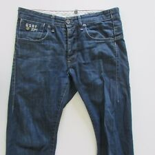 G Star Raw Jeans Mens Size W30 L32 Slim Blue