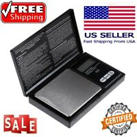 HED Certified Digital Scale 1000g x 0.1g Jewelry Pocket Gram Gold Silver Coin