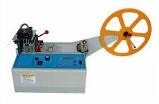 220V Hot and Cold Automatic Tape Belt Cutting Machine Leather/Braid Cutter