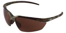 Bullhead Mojarra BALLISTIC RATED Safety Sun Glasses Camo /Brown Precision Lens