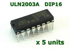 5 pcs ULN2003A  Array Transistor Darlington DIP-16 - Nuevos de fábrica