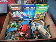 Fisher Price Construx lot of 3 partial sets Imagination Space & Alien with box