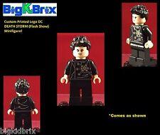 DEATH STORM Flash DC Custom Printed LEGO Minifigure. NO Decals Used!