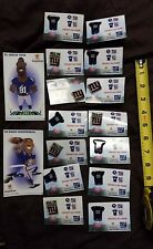 Stop & Shop NY New York Giants Football - 14 Pins and 2 Stickers Lot