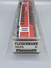 "Fleischmann 5626 Double Decker Coach Car ""Zugcafe"" 2nd Class DB/AG Ho Scale 1/87"