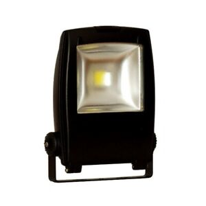 LED Floodlight, 10W, Black, Auraled  IP65 RRP £89.99