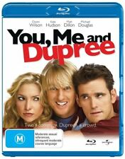 The Russo Brothers' You, Me and Dupree Blu-ray Region B As New Free Postage