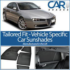 ALFA ROMEO 159 05-11 UV CAR SHADES WINDOW SUN BLINDS PRIVACY GLASS TINT BLACK