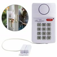 Wireless Infrared Alarm Door Bell Driveway Patrol Garage System Motion Sensor US