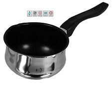 STAINLESS STEEL INDUCTION MILK WITH LIP / FRYING PAN FRY POT NON STICK MILKPAN