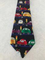 Men's Tie Necktie Save The Children Randa Corp TRAFFIC LIGHTS By Caila Age 10