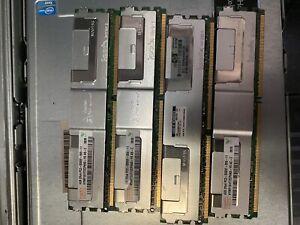 HP 16GB (4X 4GB) PC2-5300F DDR2 2Rx4 RAM for DL380 DL360 ML350 ML370 G5 Server