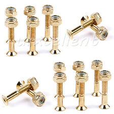 16Pcs 29mm Skateboard Deck Mounting Hexagon Hardware Truck Screws bolts nuts New