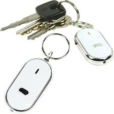Whistle House/Car Keys Finder – LED Torch Key Ring Flashing Locator Lost Buzzer