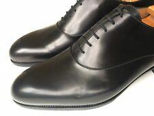 J.M. Weston Plain Toe Oxfords Black Calf Uk 10.5, US 11.5 Made In France $1200