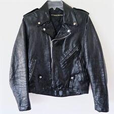 Vintage Harley Davidson Amf Leather Jacket 1970s Size 36 Biker Cycle Champ