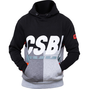 Cayler & Sons Black Label CBLSSET Hoody New Men's Black Lazer Red CSBL-AW18AP09