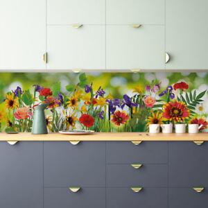 Küchenrückwand Blumen - Folwer Premium Hart-PVC 0,5 mm selbstklebend