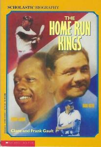 The Home Run Kings by Clare and Frank Gault - 1974 - Hank Aaron & Babe Ruth