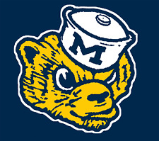 University of Michigan Biff The Wolverine NCAA Mens Polo XS-6XL, LT-4XLT New