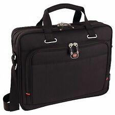 """Wenger 68367201 Acquisition 16"""" Laptop Case Bag With iPad Tablet Pocket"""