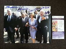 SIGNED by 5 - 8x10 Affordable Care Act (Obama care) w/ JSA COA - Pelosi, Lewis
