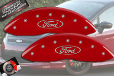 """2011-2017 """"Ford"""" Fiesta Front Only Red MGP Brake Disc Caliper Covers 2p Set"""