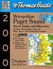 The Thomas Guide 2000 Metropolitan Puget Sound: Street Zip Code and Directory (T
