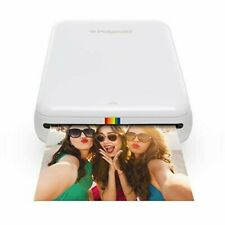 Polaroid ZIP Mobile Printer White POLMP01W Digital Photo Printer 840102108965