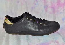 PAUL SMITH RACING size 39 / 6 Ladies Driving Shoes PSR Black Leather RARE * WOW